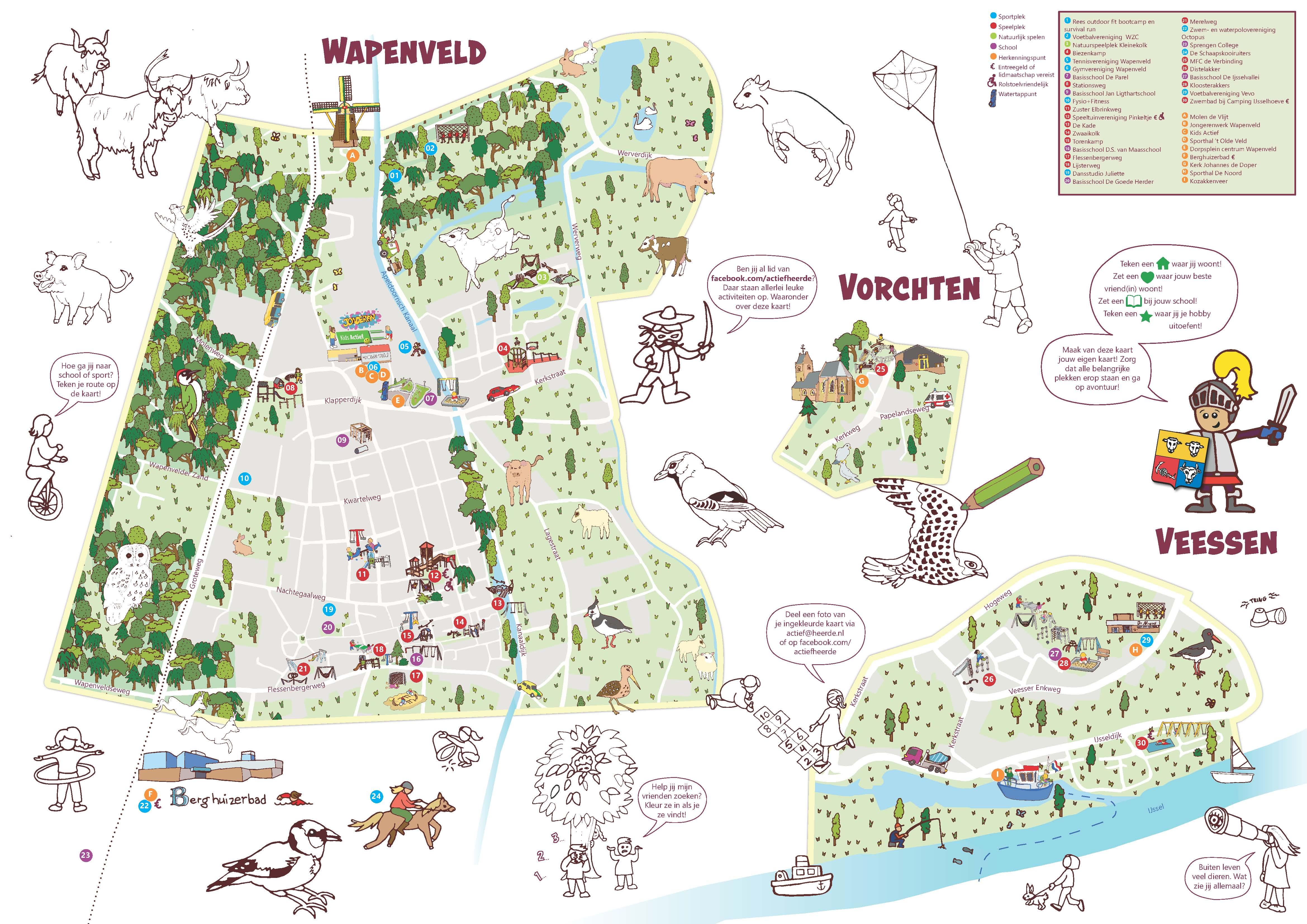Beweegkaart Wapenveld