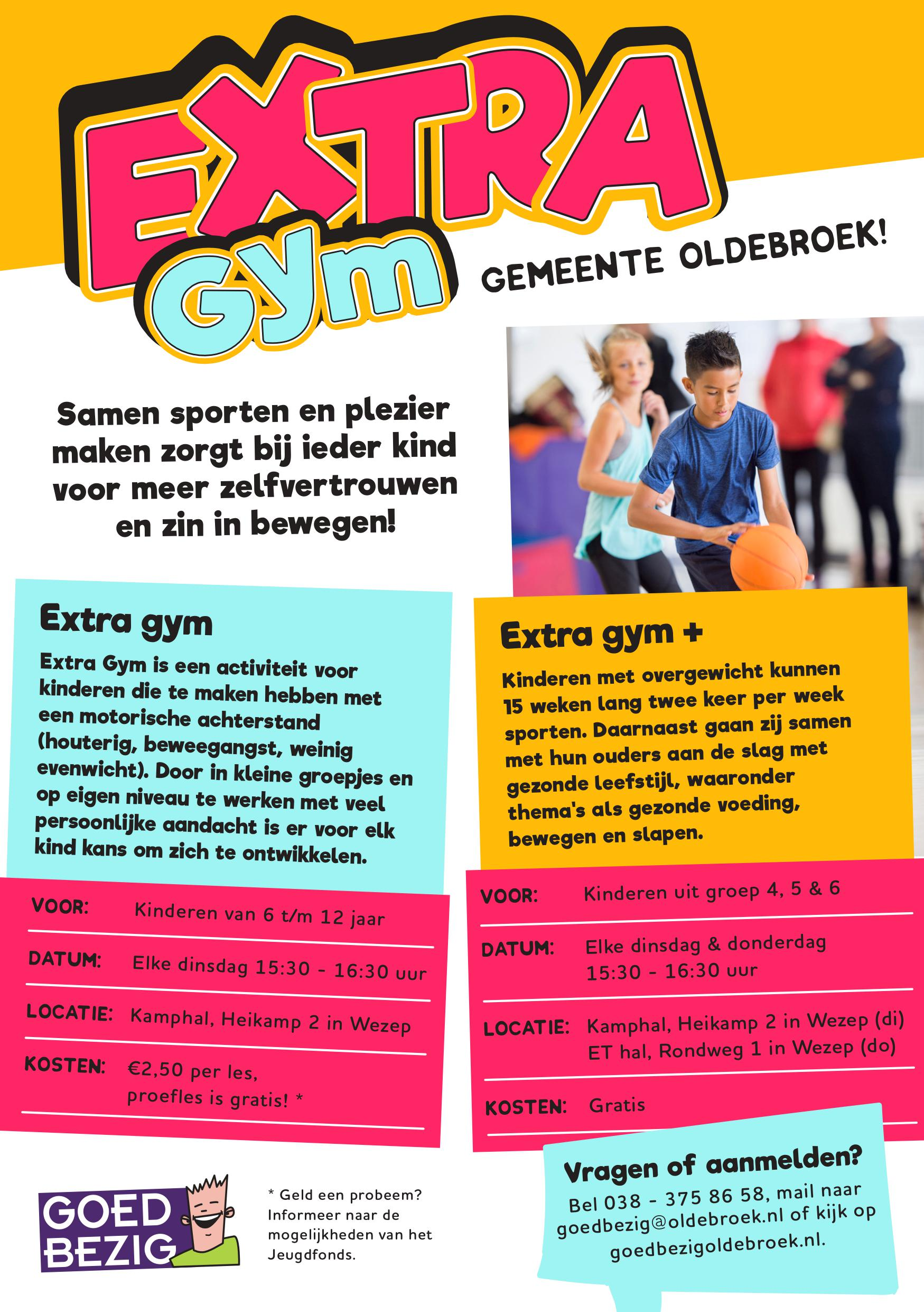 Flyer Extra Gym en Extra Gym +