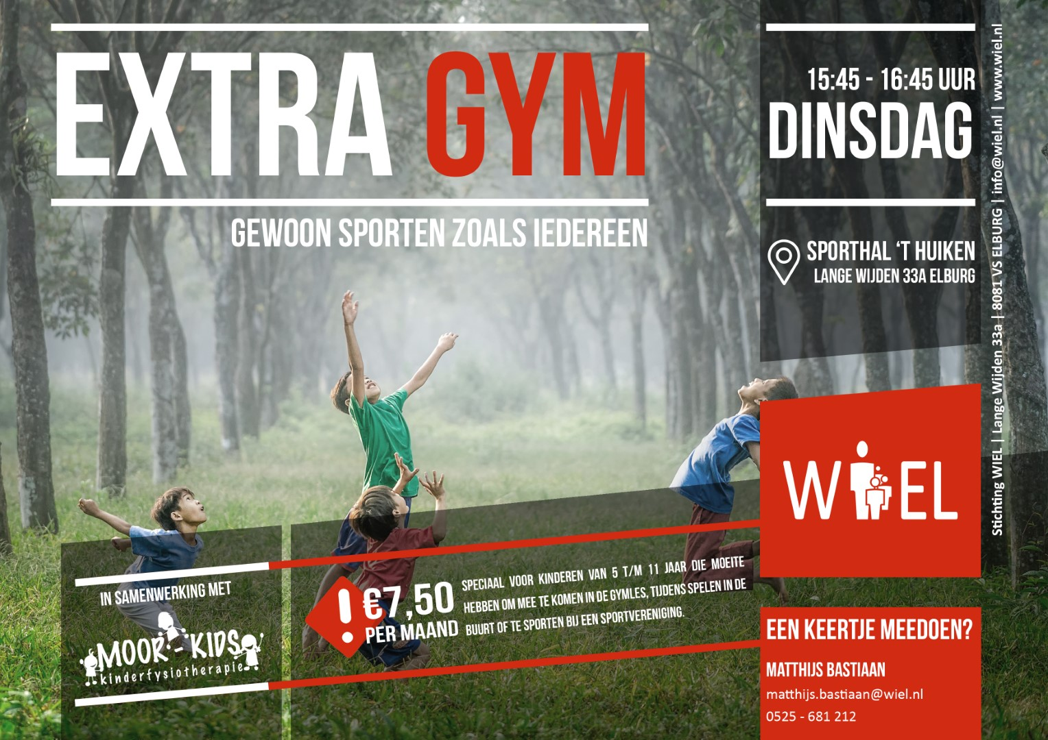 Flyer Extra Gym