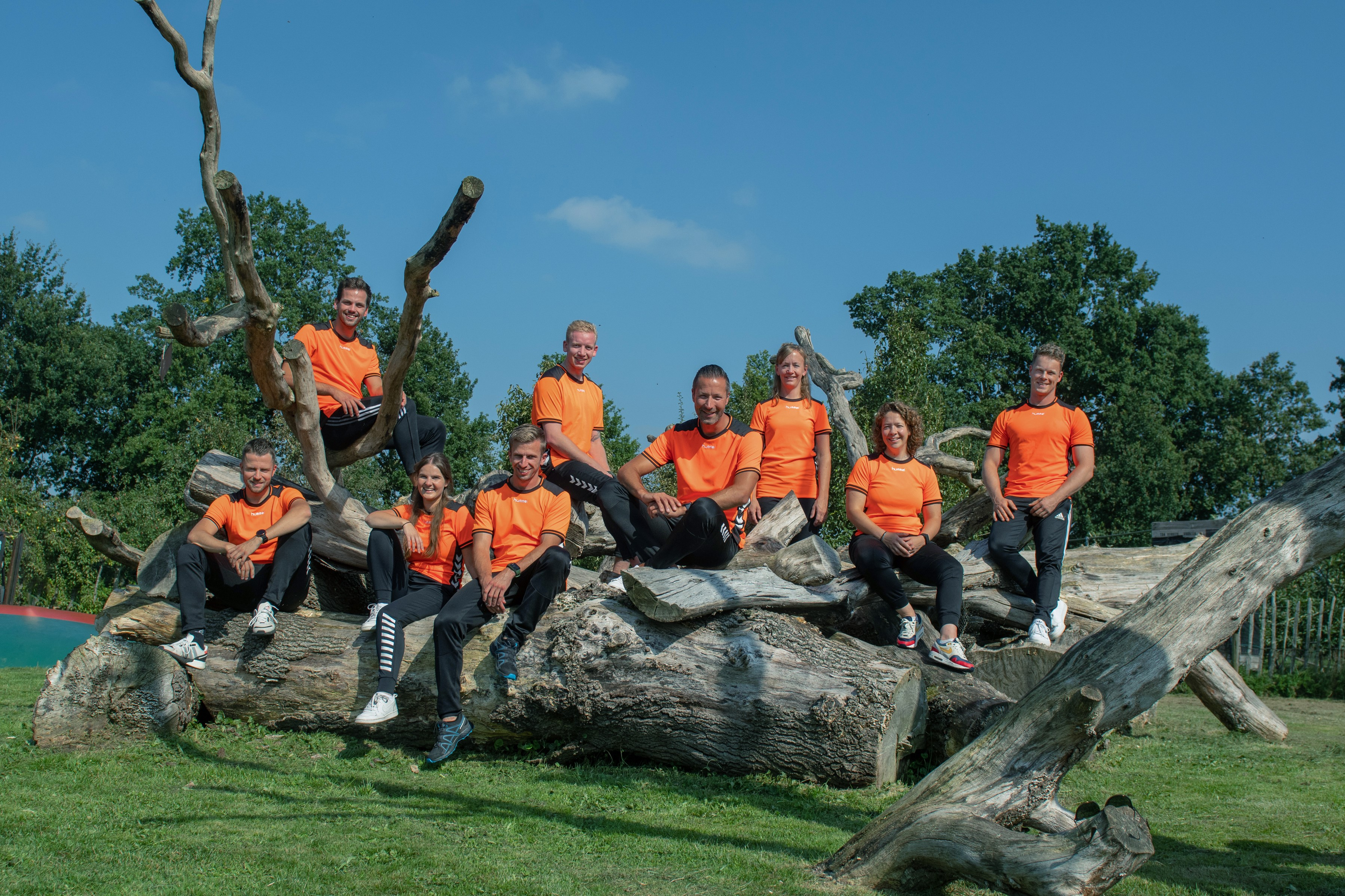 Teamfoto Goed Bezig Oldebroek 2020