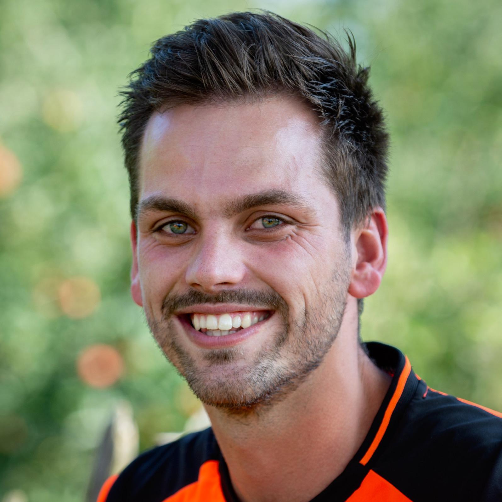 Portret Walter Bossenbroek