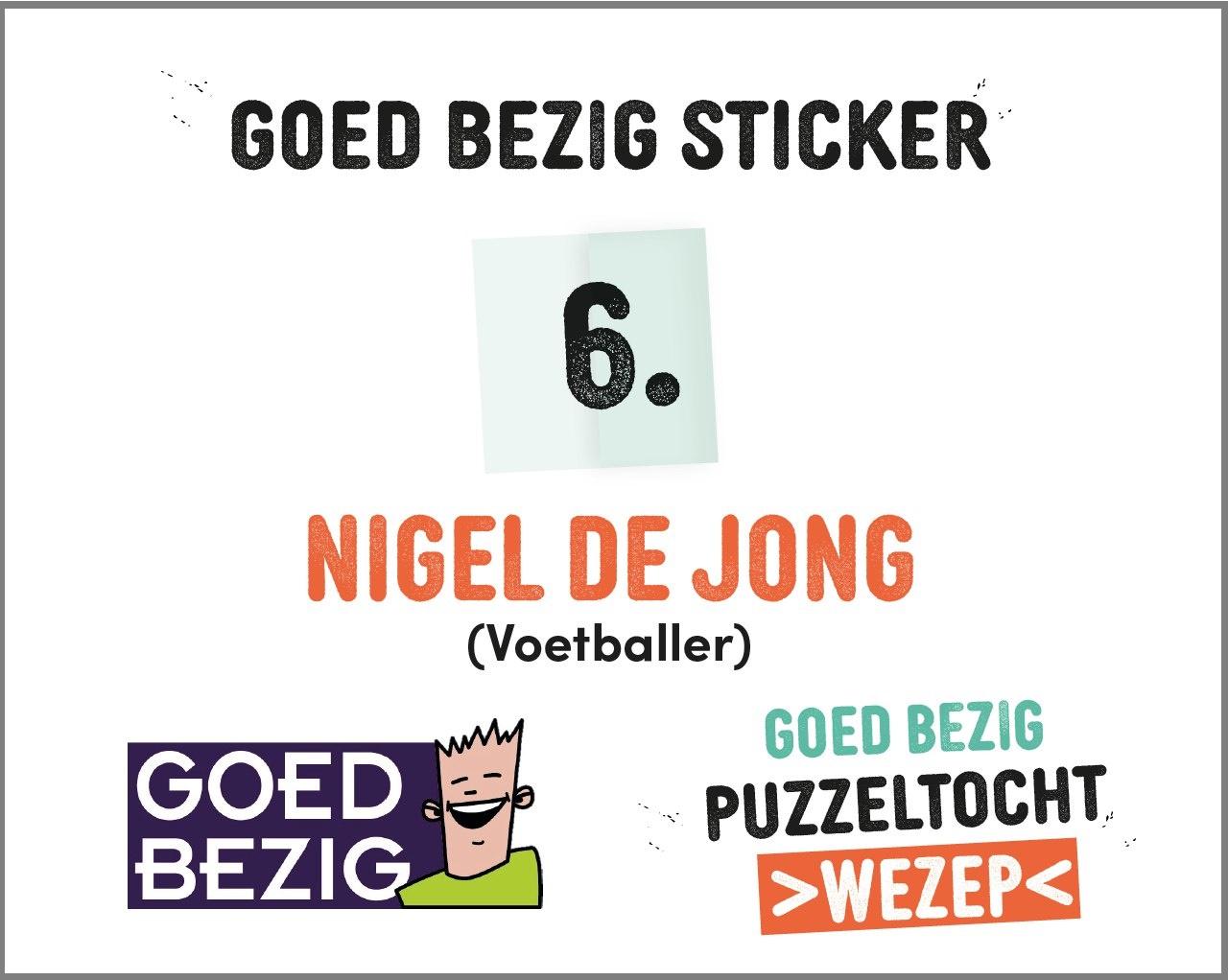 Voorbeeld sticker puzzeltocht