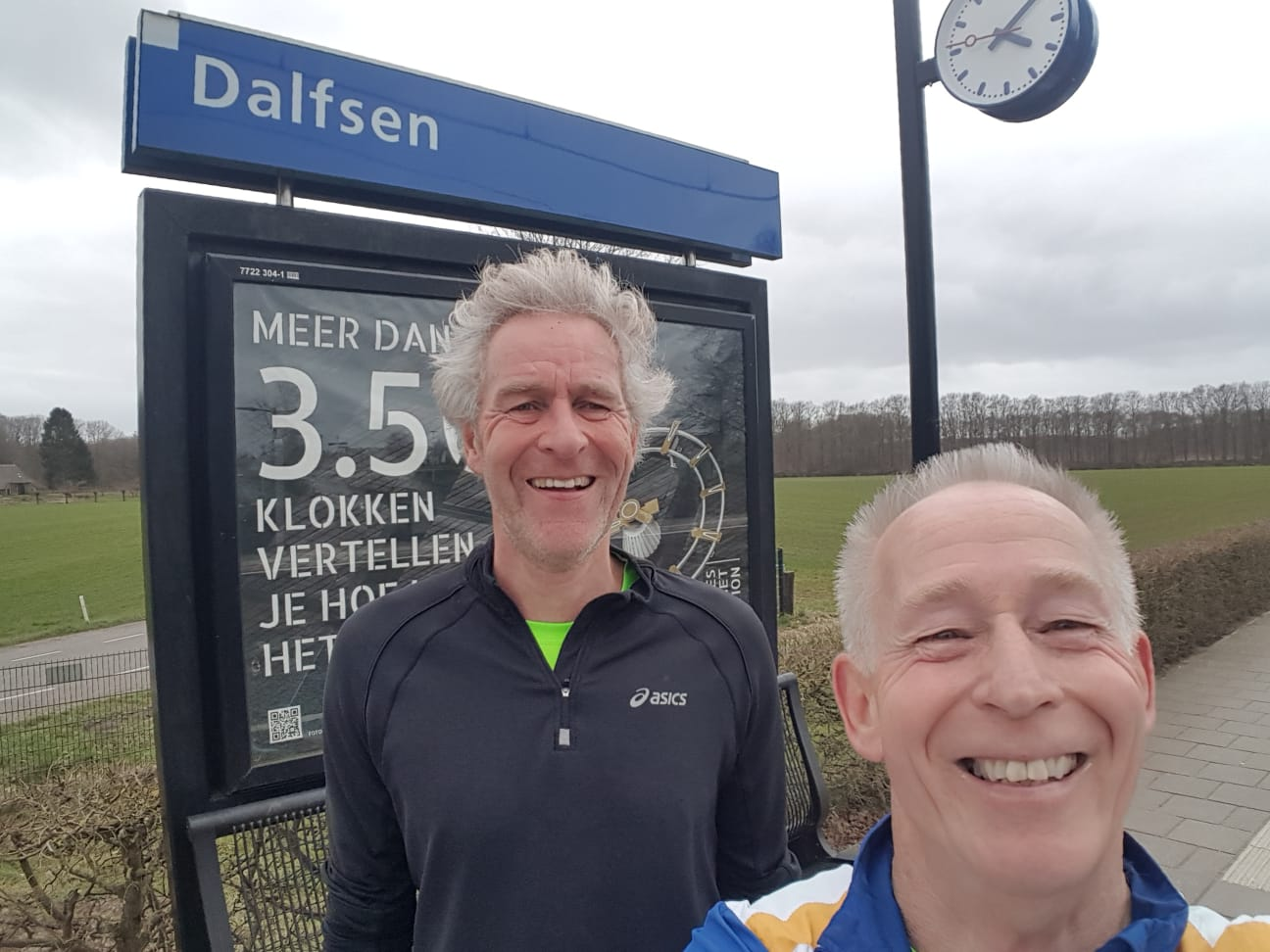 Selfie challenge Station tot Station Loop